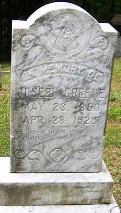 GREENE, JOSEPH - Mitchell County, North Carolina | JOSEPH GREENE - North Carolina Gravestone Photos
