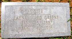 GREENE, LAUNA - Mitchell County, North Carolina   LAUNA GREENE - North Carolina Gravestone Photos