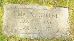 GREENE, OMA M. - Mitchell County, North Carolina | OMA M. GREENE - North Carolina Gravestone Photos