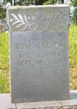 GREENE, ROM - Mitchell County, North Carolina   ROM GREENE - North Carolina Gravestone Photos