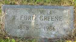 GREENE, W. FORD - Mitchell County, North Carolina | W. FORD GREENE - North Carolina Gravestone Photos