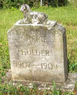 HOLDER, CARRIE - Mitchell County, North Carolina | CARRIE HOLDER - North Carolina Gravestone Photos