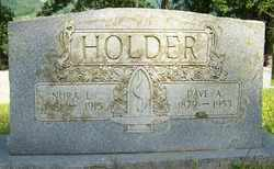 HOLDER, DAVE A. - Mitchell County, North Carolina | DAVE A. HOLDER - North Carolina Gravestone Photos