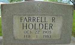 HOLDER, FARRELL R. - Mitchell County, North Carolina | FARRELL R. HOLDER - North Carolina Gravestone Photos