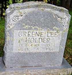 HOLDER, GREENE LEE - Mitchell County, North Carolina | GREENE LEE HOLDER - North Carolina Gravestone Photos
