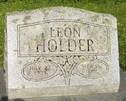 HOLDER, LEON - Mitchell County, North Carolina | LEON HOLDER - North Carolina Gravestone Photos