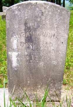 HUGHS, SUSAN - Mitchell County, North Carolina | SUSAN HUGHS - North Carolina Gravestone Photos