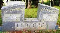 LEDFORD, A.  W. - Mitchell County, North Carolina | A.  W. LEDFORD - North Carolina Gravestone Photos