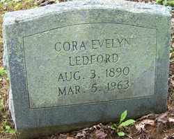 LEDFORD, CORA EVELYN - Mitchell County, North Carolina | CORA EVELYN LEDFORD - North Carolina Gravestone Photos