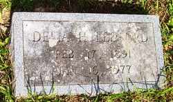 LEDFORD, DELIA H. - Mitchell County, North Carolina | DELIA H. LEDFORD - North Carolina Gravestone Photos