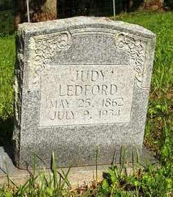 LEDFORD, JUDY - Mitchell County, North Carolina | JUDY LEDFORD - North Carolina Gravestone Photos