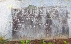 LEDFORD, RUBEN R. G. - Mitchell County, North Carolina | RUBEN R. G. LEDFORD - North Carolina Gravestone Photos