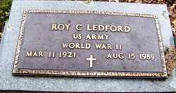 LEDFORD, ROY C. - Mitchell County, North Carolina | ROY C. LEDFORD - North Carolina Gravestone Photos