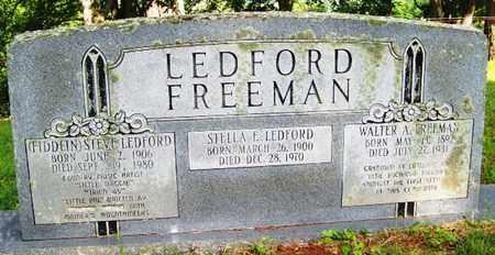 LEDFORD, STELLA F. - Mitchell County, North Carolina | STELLA F. LEDFORD - North Carolina Gravestone Photos
