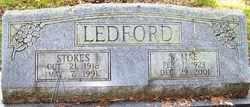 LEDFORD, W. MAE - Mitchell County, North Carolina | W. MAE LEDFORD - North Carolina Gravestone Photos