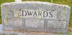 EDWARDS, CARRIE LOU - Mitchell County, North Carolina   CARRIE LOU EDWARDS - North Carolina Gravestone Photos