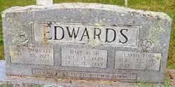 EDWARDS, MARY RUTH - Mitchell County, North Carolina | MARY RUTH EDWARDS - North Carolina Gravestone Photos