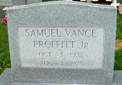 PROFFITT, JR., SAMUEL VANCE - Mitchell County, North Carolina | SAMUEL VANCE PROFFITT, JR. - North Carolina Gravestone Photos
