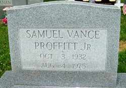 PROFFITT, JR., SAMUEL VANCE - Mitchell County, North Carolina | SAMUEL VANCE PROFFITT, JR. - North Carolina Gravestone Photos