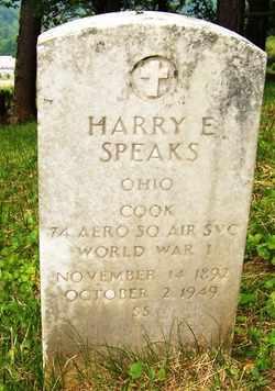 SPEAKS, HARRY E. - Mitchell County, North Carolina   HARRY E. SPEAKS - North Carolina Gravestone Photos