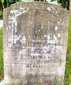 THOMAS, DAVID PHILETUS - Mitchell County, North Carolina | DAVID PHILETUS THOMAS - North Carolina Gravestone Photos