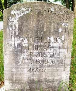 THOMAS, DAVID PHILETUS - Mitchell County, North Carolina   DAVID PHILETUS THOMAS - North Carolina Gravestone Photos