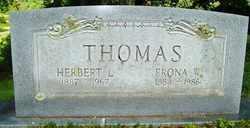 THOMAS, HERBERT L. - Mitchell County, North Carolina   HERBERT L. THOMAS - North Carolina Gravestone Photos