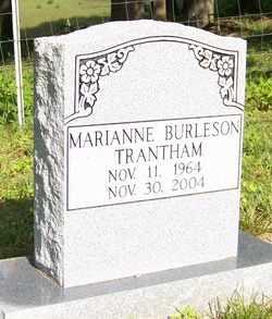 BURLESON TRANTHAM, MARIANNE - Mitchell County, North Carolina | MARIANNE BURLESON TRANTHAM - North Carolina Gravestone Photos