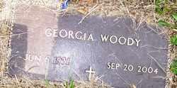 WOODY, GEORGIA - Mitchell County, North Carolina   GEORGIA WOODY - North Carolina Gravestone Photos
