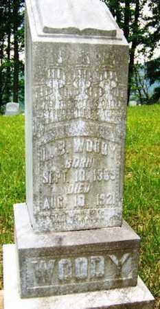 WOODY, L. B. - Mitchell County, North Carolina   L. B. WOODY - North Carolina Gravestone Photos