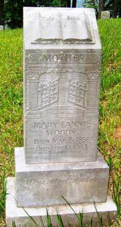 WOODY, MARY FANNIE - Mitchell County, North Carolina | MARY FANNIE WOODY - North Carolina Gravestone Photos