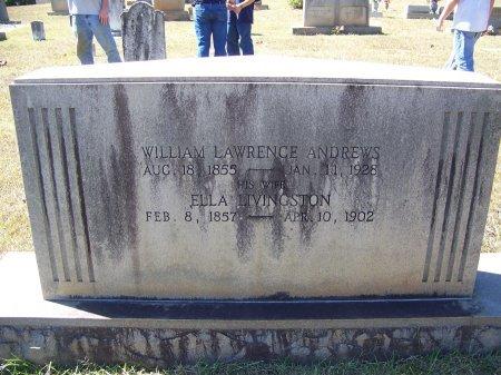 ANDREWS, WILLIAM LAWRENCE - Montgomery County, North Carolina | WILLIAM LAWRENCE ANDREWS - North Carolina Gravestone Photos