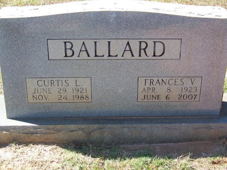 BALLARD (VETERAN WW II), CURTIS L. - Montgomery County, North Carolina | CURTIS L. BALLARD (VETERAN WW II) - North Carolina Gravestone Photos