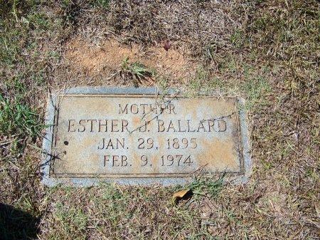 BALLARD, ESTHER J. - Montgomery County, North Carolina | ESTHER J. BALLARD - North Carolina Gravestone Photos