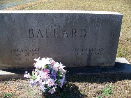 BALLARD, JAMES SPENCER - Montgomery County, North Carolina | JAMES SPENCER BALLARD - North Carolina Gravestone Photos