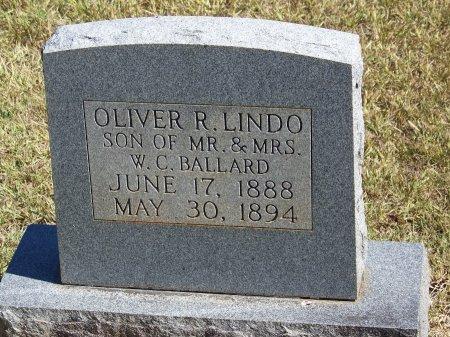 BALLARD, OLIVER R. LINDO - Montgomery County, North Carolina | OLIVER R. LINDO BALLARD - North Carolina Gravestone Photos