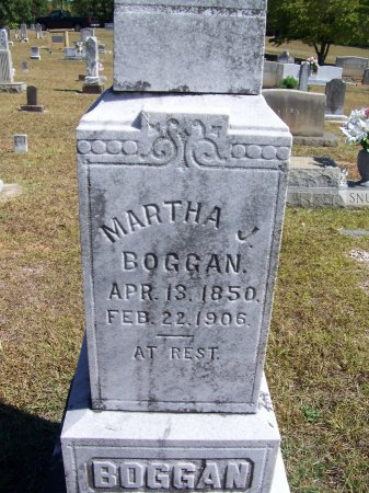BOGGAN, MARTHA J. - Montgomery County, North Carolina | MARTHA J. BOGGAN - North Carolina Gravestone Photos