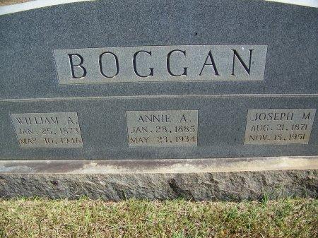 BOGGAN, WILLIAM A. - Montgomery County, North Carolina | WILLIAM A. BOGGAN - North Carolina Gravestone Photos