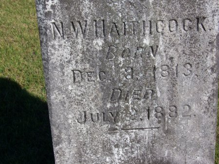 HAITHCOCK, N. W. - Montgomery County, North Carolina | N. W. HAITHCOCK - North Carolina Gravestone Photos