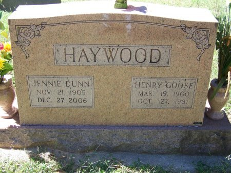 DUNN HEYWOOD, JENNIE - Montgomery County, North Carolina | JENNIE DUNN HEYWOOD - North Carolina Gravestone Photos
