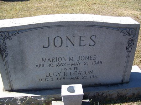 JONES, MARION M. - Montgomery County, North Carolina | MARION M. JONES - North Carolina Gravestone Photos