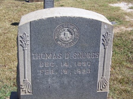 SNUGGS, THOMAS D. - Montgomery County, North Carolina | THOMAS D. SNUGGS - North Carolina Gravestone Photos