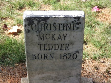 TEDDER, CHRISTINE - Montgomery County, North Carolina | CHRISTINE TEDDER - North Carolina Gravestone Photos