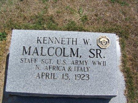 MALCOM, SR. (VETERAN WWII), KENNETH W. - Scotland County, North Carolina | KENNETH W. MALCOM, SR. (VETERAN WWII) - North Carolina Gravestone Photos