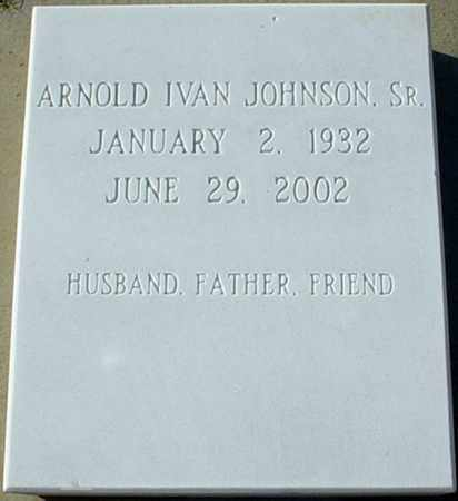 JOHNSON, ARNOLD IVAN, SR. - Stokes County, North Carolina | ARNOLD IVAN, SR. JOHNSON - North Carolina Gravestone Photos