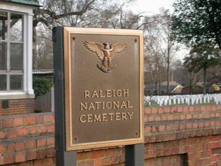 SIGN, CEMETERY - Wake County, North Carolina | CEMETERY SIGN - North Carolina Gravestone Photos